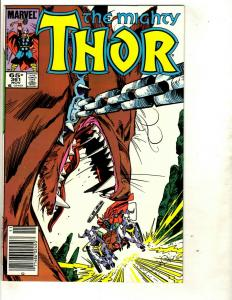 10 Thor Marvel Comics # 361 362 363 364 365 366 367 368 369 370 Spider-Man DS3