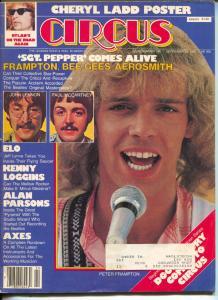 Circus-Peter Frampton-Bob Dylan-Kenny Loggins-Cheryl Ladd-Sept-1979