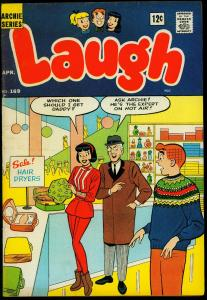 Laugh Comics #169 1965- Archie- DeCarlo- Harry Lucey VG