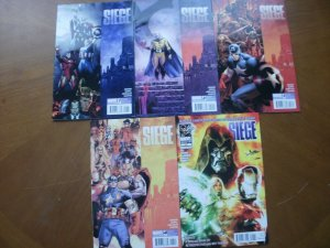 5 Marvel Limited Series Comic: SIEGE #1 2 3 4 (2010 Complete Set) & #200 What If