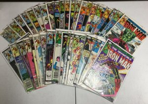 Iron Man 131-327 Vol 1 2 3 Annuals Fine Or Better Over 200+ Issues Marvel Comics