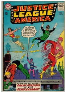 JUSTICE LEAGUE OF AMERICA (1960-1987 DC) 24 (loose page COMICS BOOK