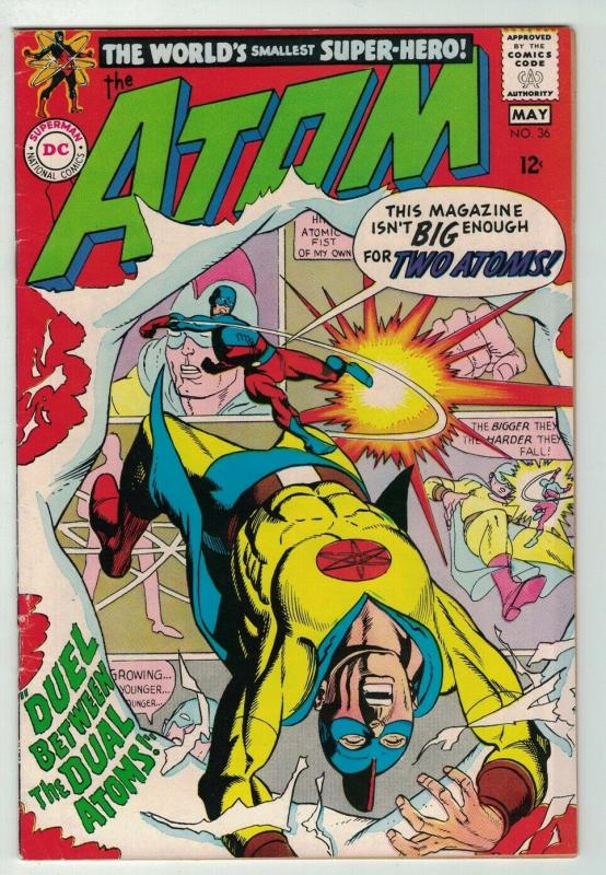 ATOM 36 FINE May 1968 GA ATOM x over