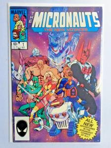 Micronauts The New Voyages Set:#1-20, Missing:#3, 8.0/VF (1984-1986)