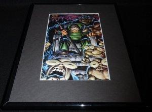 Moleman Marvel Masterpiece ORIGINAL 1992 Framed 11x14 Poster Display