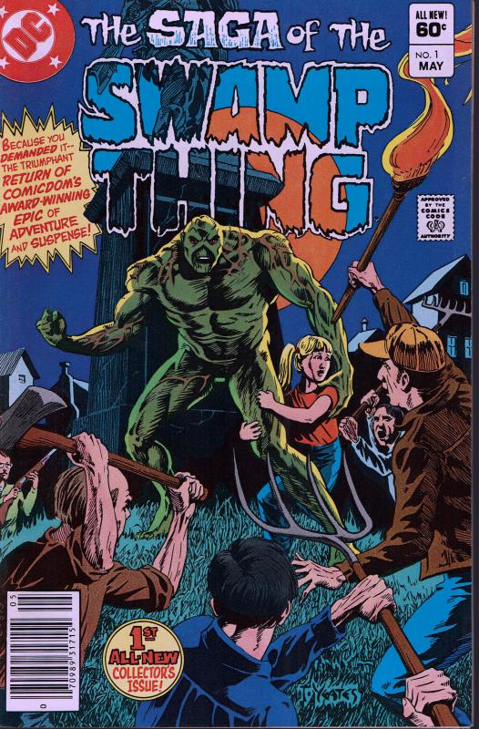 Swamp Thing #1 - NM - 1982 2nd Series