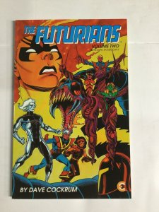 The Futurians Volume Two Nm Near Mint Tpb Sc Softcover Eternity Comics