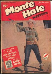 Western Hero #343 1949-Fawcett-movie photo cover-Gabby Hayes-VG
