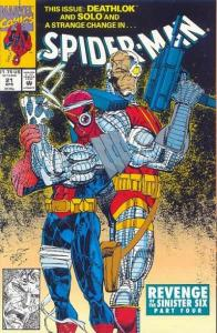 Spider-Man (1990 series) #21, NM- (Stock photo)