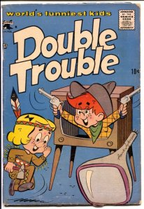 Double Trouble #2 1958-St John-Frank Johnson-final issue-VG