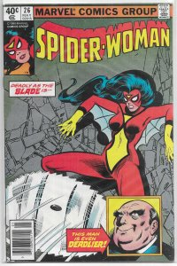 Spider-Woman   vol. 1   #26 FN