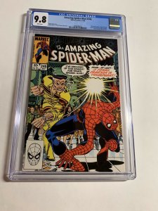 Amazing Spider-man 246 Cgc 9.8 White Pages Marvel