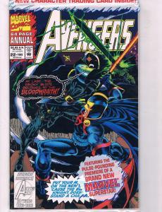 Avengers Annual # 22 NM Marvel Comic Book Iron Man Hulk Thor Vision Wasp AD6