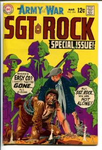 OUR ARMY AT WAR #204-SGT. ROCK-COOL ISSUE FN+