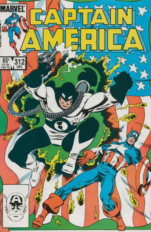 Captain America (1st Series) #312 VF/NM; Marvel | save on shipping - details ins