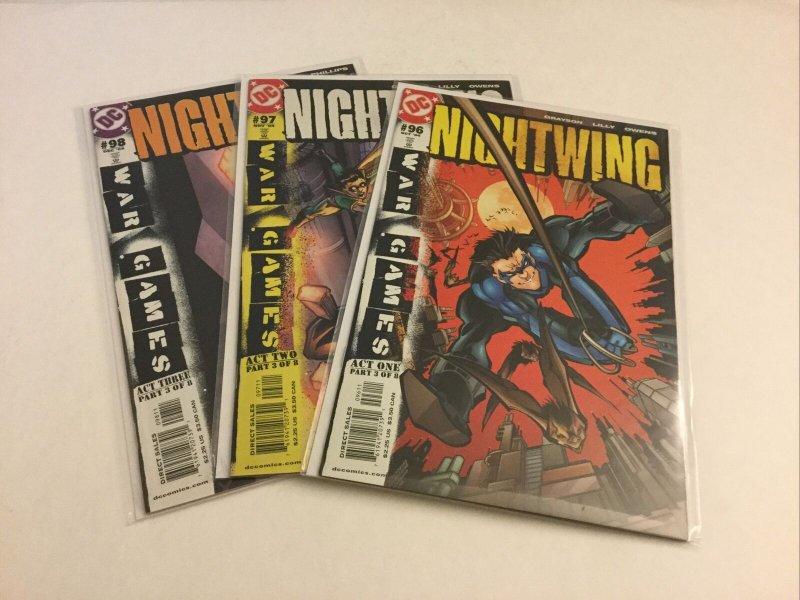 Nightwing 96 97 98 Nm Near Mint DC Comics