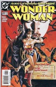 Wonder Woman #203 ORIGINAL Vintage 2004 DC Comics Batman GGA