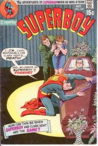 SUPERBOY 169 VG+ NEAL ADAMS COVER  October 1970 COMICS BOOK