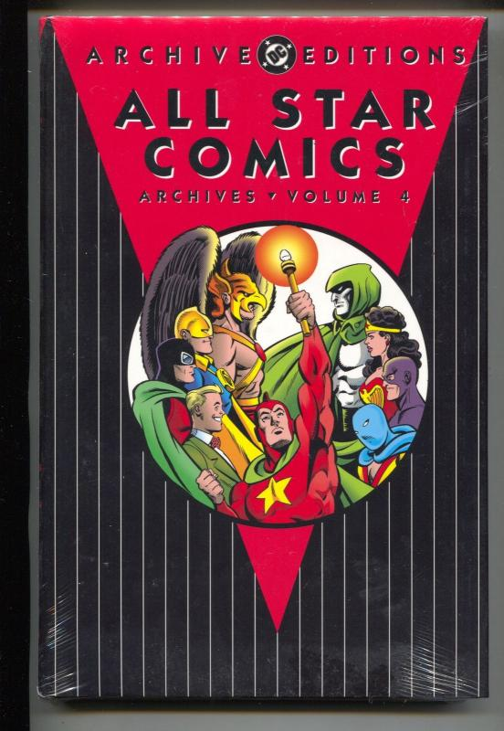 All Star Comics Archives-Vol 4-#15-18-Color-Hardcover