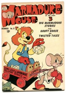 Marmaduke Mouse #27 1951- Golden Age Funny Animals VF-
