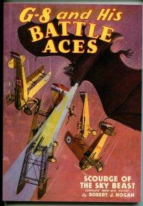 G-8 & His Battle Aces #31 4/1936-Adventure House reprint-2009-Hogan-pulp-VF/NM