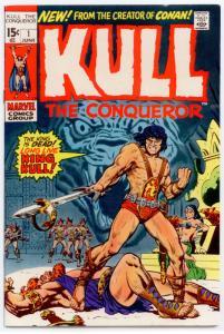Kull the Conqueror #1 VF+ 8.5  1st full comic book app. of Kull