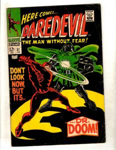Daredevil # 37 FN Marvel Comic Book Spider-Man Defenders Avengers Hulk Thor FM4