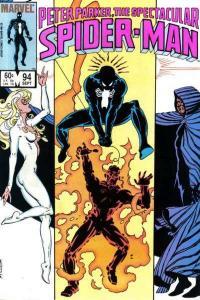 Spectacular Spider-Man (1976 series) #94, VG (Stock photo)
