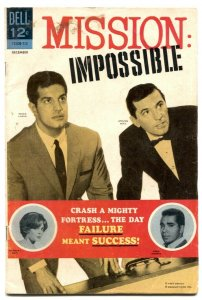 Mission Impossible #3 1968-Dell TV Comic- VG