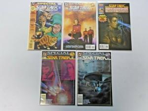Star Trek Specials lot - 10 different books - see pics - 8.0 - years vary
