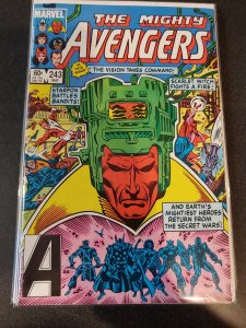 THE AVENGERS #243 BRONZE AGE CLASSIC VF/NM