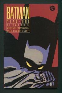 Batman: Year One Trade Paperback / NM 1st Print  1988