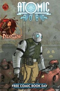 Atomic Robo (2007 series) FCBD edition #2008, NM + (Stock photo)