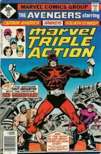 Marvel Triple Action (1972 series) #35, VF- (Stock photo)