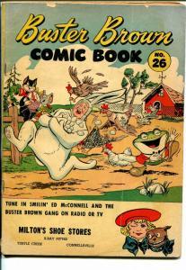 Buster Brown  #6 1940's-adventure-humor-VG