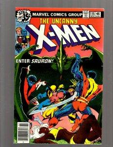 (Uncanny) X-Men # 115 VF Marvel Comic Book Beast Angel Cyclops Magneto SM19