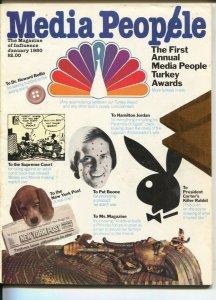 Media People 1/1980-The Magazine of Influence-Media Turkey Awards-spicy Micke...