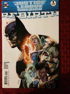 Justice League America Rebirth #1 NM DC Comics Batman Wonder Woman 2017