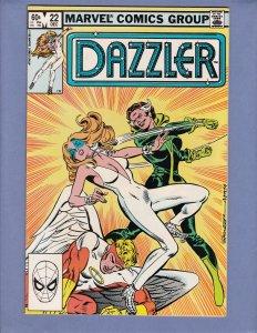 Dazzler #22 NM- Rogue Marvel 1982