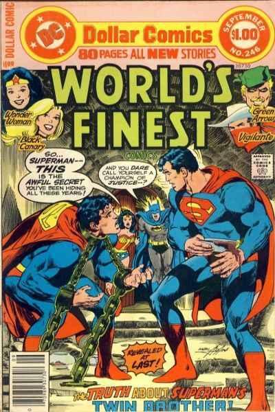 World's Finest Comics #246, VG- (Stock photo)