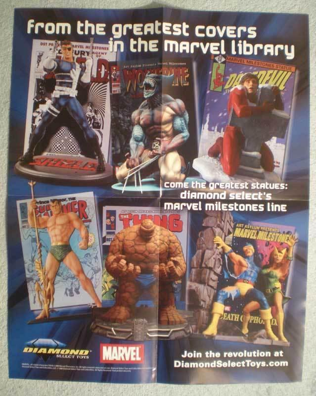 GREATEST COVERS Promo Poster, WOLVERINE, NICK FURY, Unused, more in our store