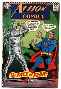 ACTION COMICS #349 comic book 1967-SUPERMAN MEETS THE MUMMY