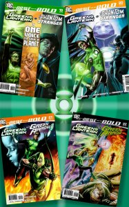 BRAVE & THE BOLD #19-22 4-Part 2009 Epic w Green Lantern, Phantom Stranger & GA