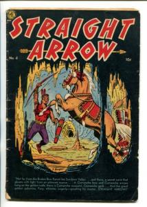 Straight Arrow  #4 1950-Fred Meagher -Western F/G