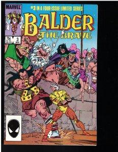 Balder the Brave #3 (Marvel, 1986)