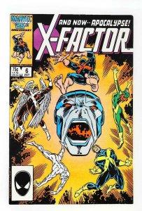 X-Factor (1986 series) #6, VF+ (Actual scan)