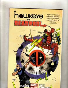 Hawkeye Vs. Deadpool Marvel Comics TPB Graphic Novel Comic Book X-Men Cable J348
