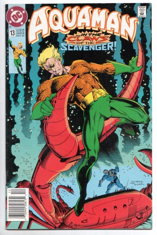 Aquaman #13 -  My Hero (DC, 1992) - VF