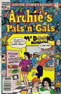 Archie's Pals 'n Gals #164 FN; Archie | save on shipping - details inside