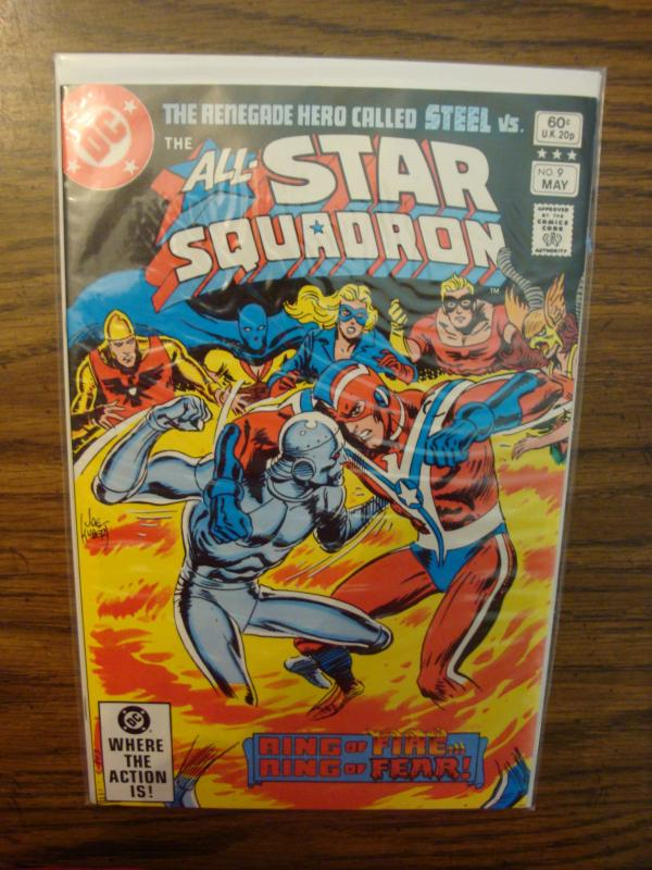 DC Comics All-Star Squadron #9 VF+
